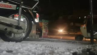 Heavy Hailing In Lahore Pakistan 2019 || After a very very Long time