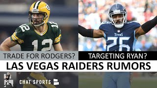 Raiders Trading For Aaron Rodgers? Raiders News & Rumors: Logan Ryan Latest, 2020 Cuts, Signings