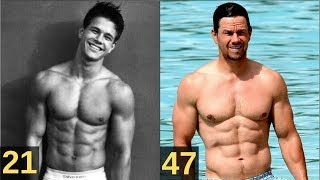 Mark Wahlberg Transformation From 7 to 47 Years Old 1