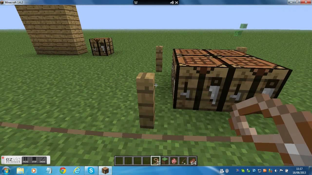How To Craft A Leash In Minecraft