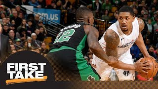 First Take reacts to Wizards beating Celtics in double OT | First Take | ESPN
