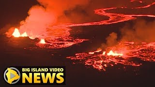 Hawaii Volcano Eruption Update - Tuesday Morning (May 22, 2018)