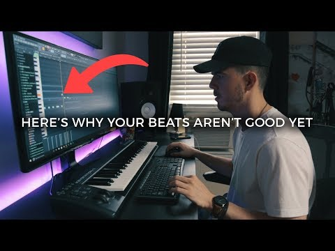 Here's why your beats aren't good yet. | Making a Beat FL Studio