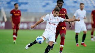 Resumen AS Roma 0 - 0 Sevilla FC   Pretemporada 21/22
