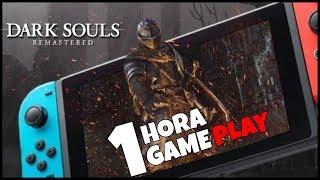 1 HORA de DARK SOULS Remastered con GUERRERO en Nintendo Switch GAMEPLAY