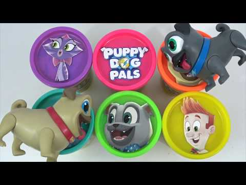 PUPPY DOG PALS PLAY-DOH Lids with LOL Surprise Dolls | Toys Unlimited
