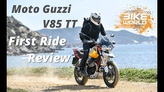 Moto Guzzi V85 TT First Ride Review