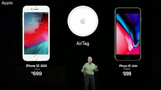 Apple iPhone SE 2020 & Apple AirTag Official Launch