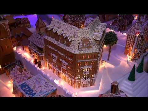 Pepperkakebyen 2012 - Bilder fra TV 2 - Del 3 - The worlds greatest gingerbread city