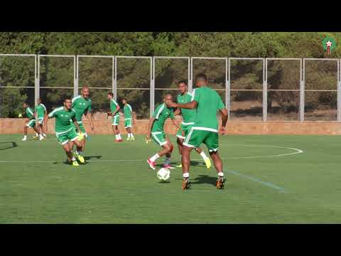 اليوم الثاني من تداريب المنتخب الوطني استعداد لمباراة مالي