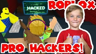 WE ARE PRO HACKERS in ROBLOX FLEE THE FACILITY!