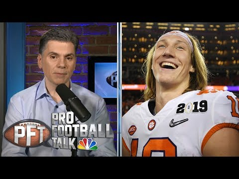 Will Clemson's Trevor Lawrence sit out a season to prepare for NFL? | Pro Football Talk | NBC Sports