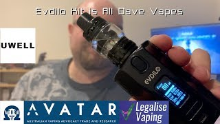 Evdilo Kit is All Dave Vapes   Great dual 21700 mod and so small considering!!