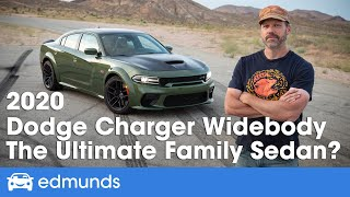 2020 Dodge Charger Scat Pack Widebody Review ― Cost, Interior, Specs, 0-60, Burnouts & More