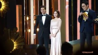 2015-12-31 2015 SBS Drama Award Joo Won Kim Tae Hee - Best Couple