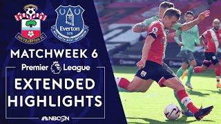Southampton v. Everton   PREMIER LEAGUE HIGHLIGHTS   10/25/2020   NBC Sports