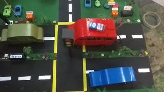 Road Safety Automatic Breaking System Through Cloud Server