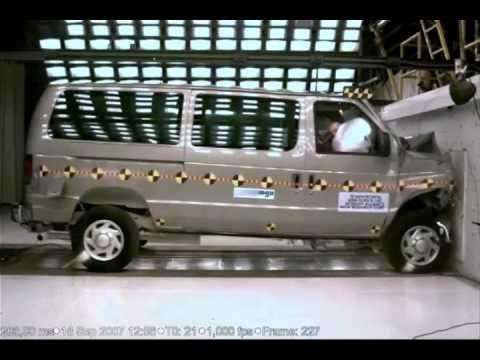 Ford E Series >> 2008 Ford Econoline (E-150 - Conversion Van) 30 Mp/h NHTSA ...