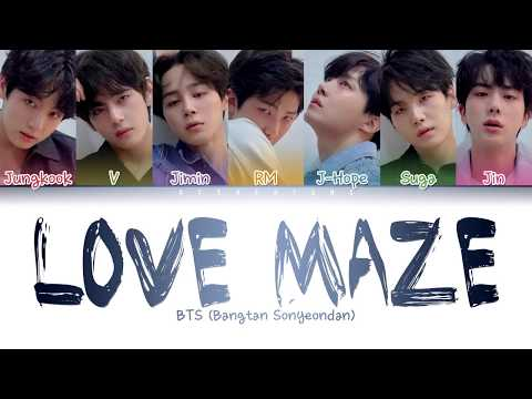 BTS (방탄소년단) - Love Maze (Color Coded Lyrics/Han/Rom/Eng)
