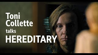 Toni Collette interviewed about new movie 'Hereditary'