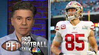 San Francisco 49ers smart to lock up George Kittle | Pro Football Talk | NBC Sports