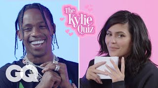 Kylie Jenner Asks Travis Scott 23 Questions | GQ