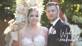 THE MAKEUP I WORE ON MY WEDDING | Samantha Ravndahl