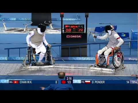 London 2012 - Wheelchair Fencing