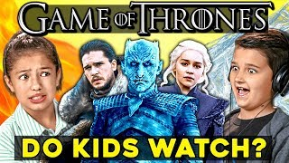 Kids React To Game Of Thrones