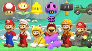 Super Mario Maker 2 - All Power-Ups