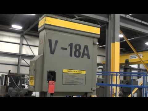 USED HYD-MECH V-18A VERT BANDSAW - HB-20325