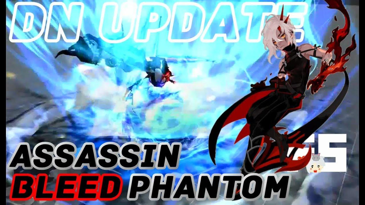 Dragon Nest Update : Assassin Spin Off Class (Bleed Phantom