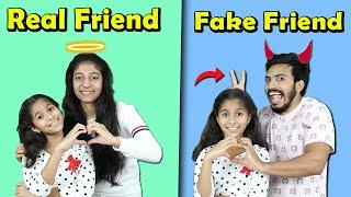 Real Friend Vs Fake Friend   Funny Video   Pari's Lifestyle