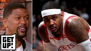 Jalen Rose: Carmelo Anthony has failed to 'reinvent himself' in Houston | Get Up!
