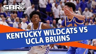 Free Picks | Kentucky Wildcats vs UCLA Bruins | College Basketball Betting Preview