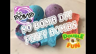 SO BOMB DIY FIZZY BOMB I QUICK AND EASY WAY TO MAKE BATH FIZZY BOMBS WITH YOUR KIDS