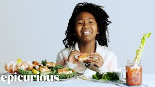 Kids Try 100 Years of Breakfast Foods | Bon Appétit
