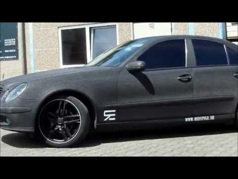 ice matt folie mercedes e klasse by reestyle autofolierung saarland youtube. Black Bedroom Furniture Sets. Home Design Ideas