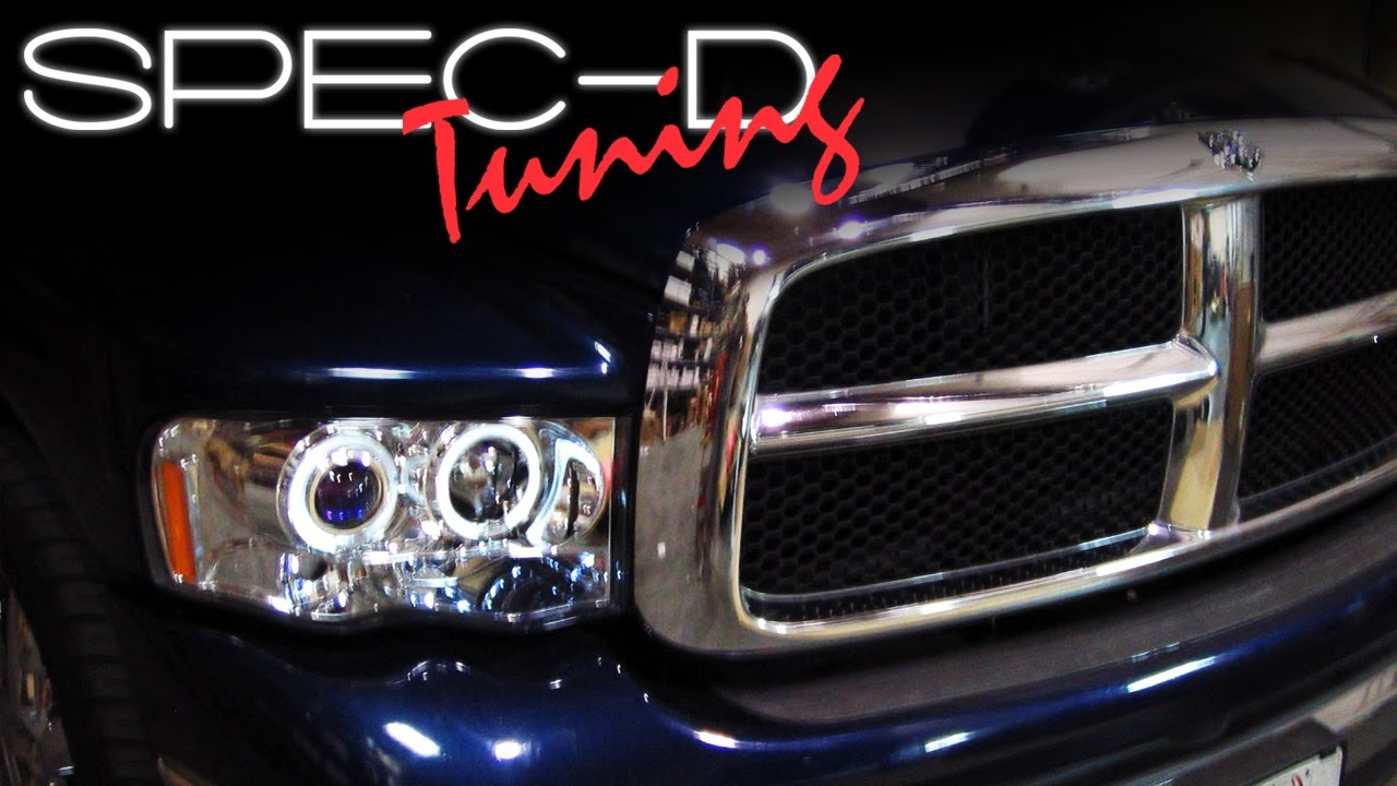 Specdtuning Installation Video 2002 2005 Dodge Ram Head