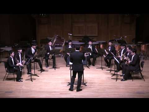 J.S.Bach's Toccata and Fugue in D minor, BWV 565 performed by KNUA Sasophone Ensemble