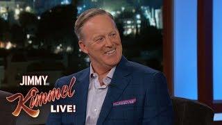 Jimmy Kimmel Interviews Sean Spicer