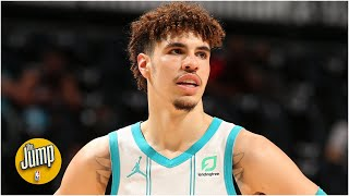 Perk calls LaMelo's full-court pass the best pass he's seen in 10 years   The Jump