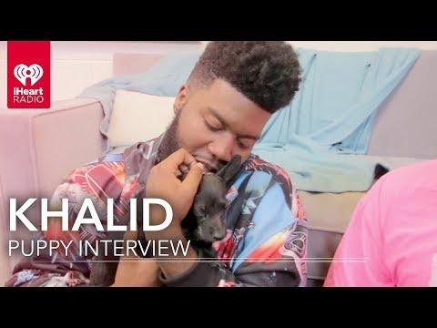 Khalid Puppy Interview   iHeartRadio Music Festival