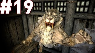 Let's play Skyrim (The Companions) Episode 19 - Trouble at Loreius Farm!