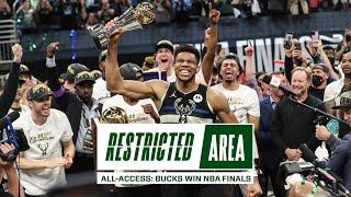 All-Access: Bucks Win NBA Championship | Giannis Drops 50 Points, Finals Locker Room Celebration