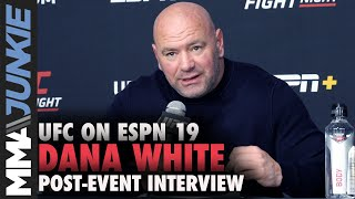 Dana White explains Yoel Romero release, says 60 cuts coming   UFC on ESPN 19 full interview