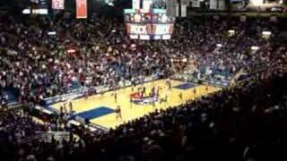 KU Basketball Game - Rock Chalk Chant