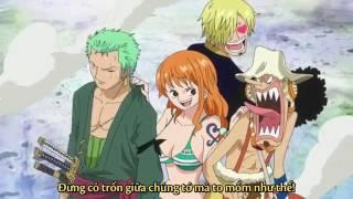 Luffy sử dụng haki thống trị trên đảo người cá