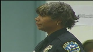 Fired police officer trying to get pension