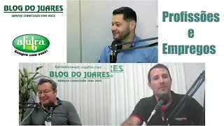 Profissões e Empregos com Alencar Medeiros na BJ Rádio Web